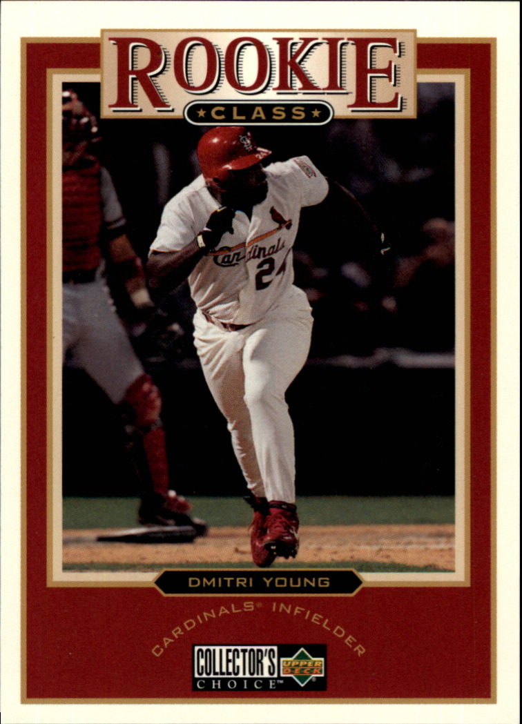 1997 Collector's Choice #4 Dmitri Young