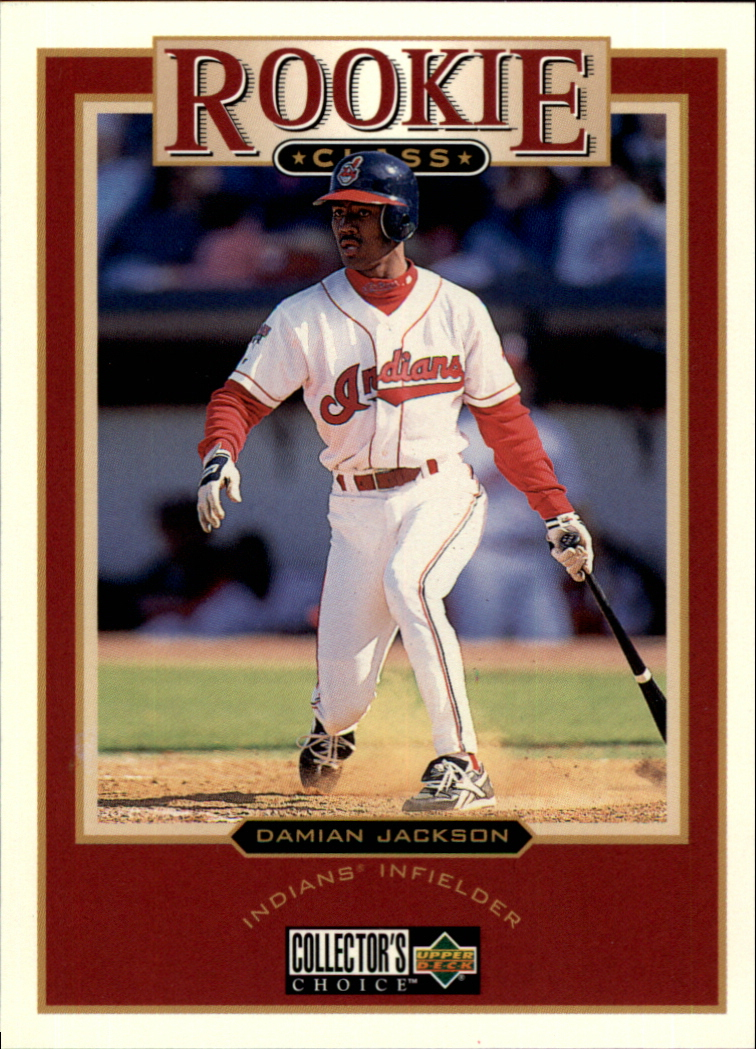 1997 Collector's Choice #7 Damian Jackson