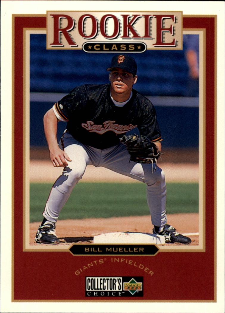 1997 Collector's Choice #8 Bill Mueller RC