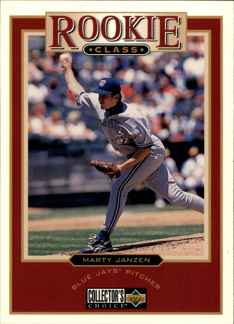 1997 Collector's Choice #11 Marty Janzen