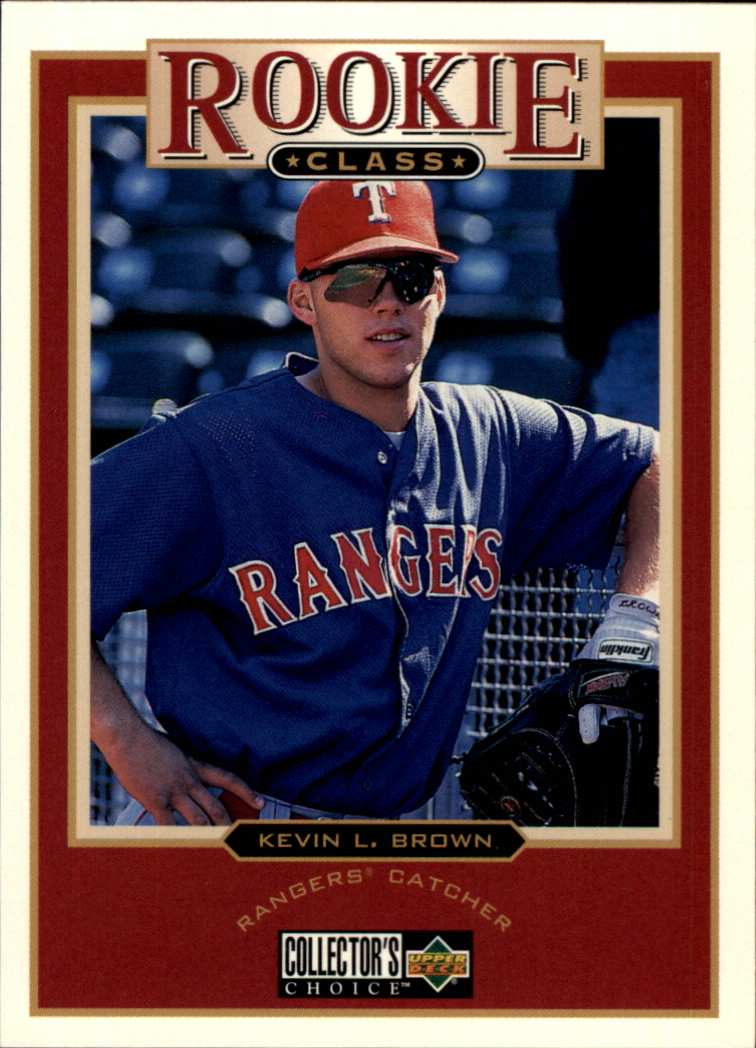 1997 Collector's Choice #12 Kevin L. Brown