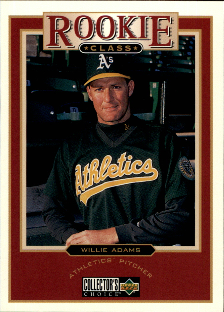 1997 Collector's Choice #13 Willie Adams