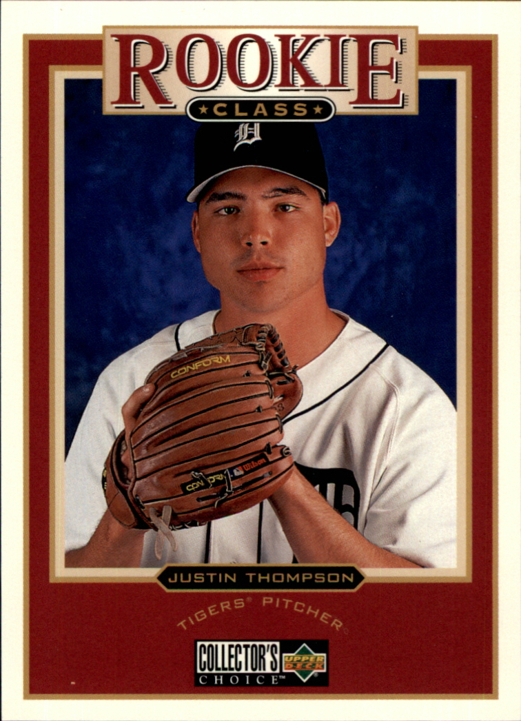 1997 Collector's Choice #21 Justin Thompson