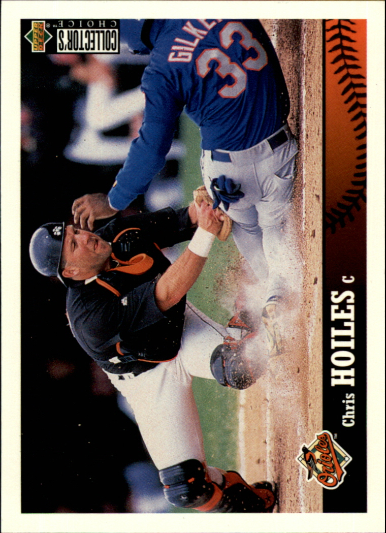 1997 Collector's Choice #38 Chris Hoiles front image