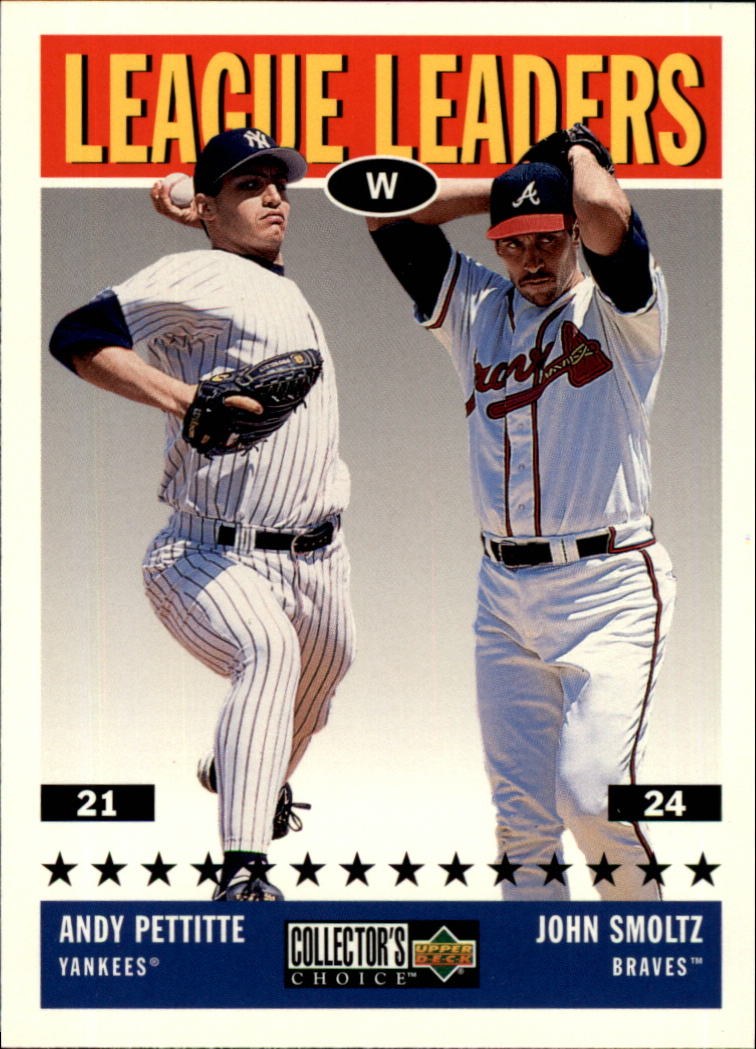 1997 Collector's Choice #60 J.Smoltz/A.Pettitte LL