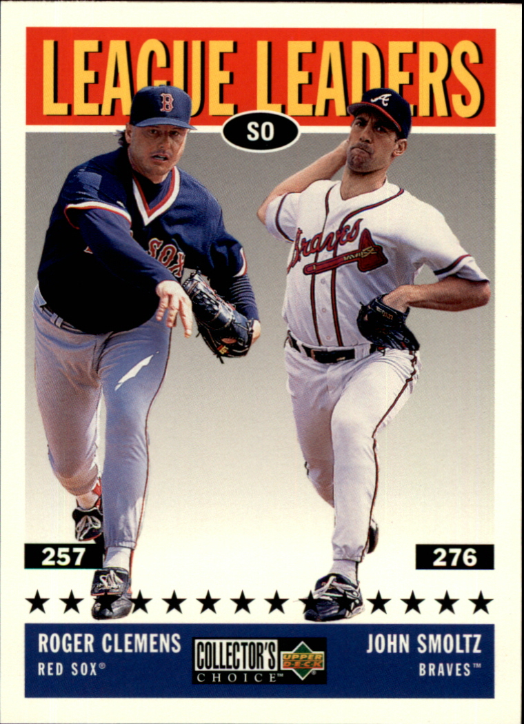 1997 Collector's Choice #61 J.Smoltz/R.Clemens LL