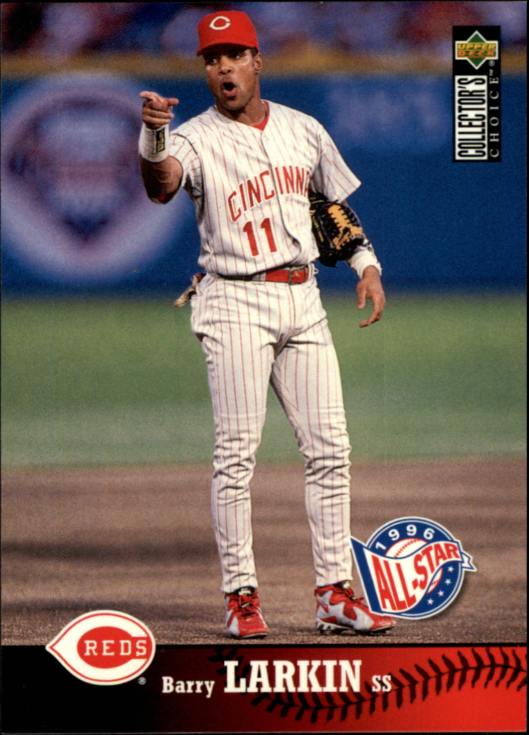 1997 Collector's Choice #80 Barry Larkin