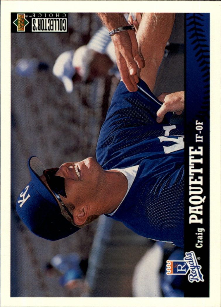1997 Collector's Choice #132 Craig Paquette