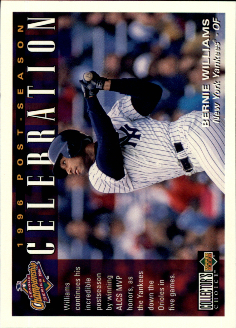 1997 Collector's Choice #223 Bernie Williams POST