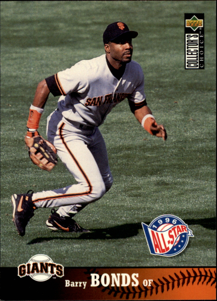 1997 Collector's Choice #225 Barry Bonds front image