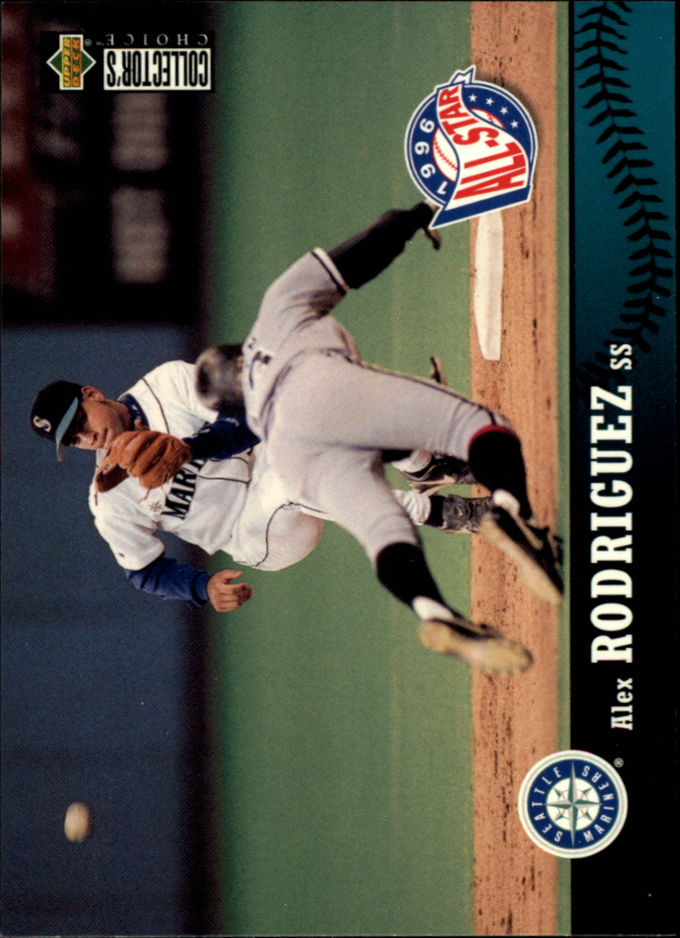 1997 Collector's Choice #235 Alex Rodriguez