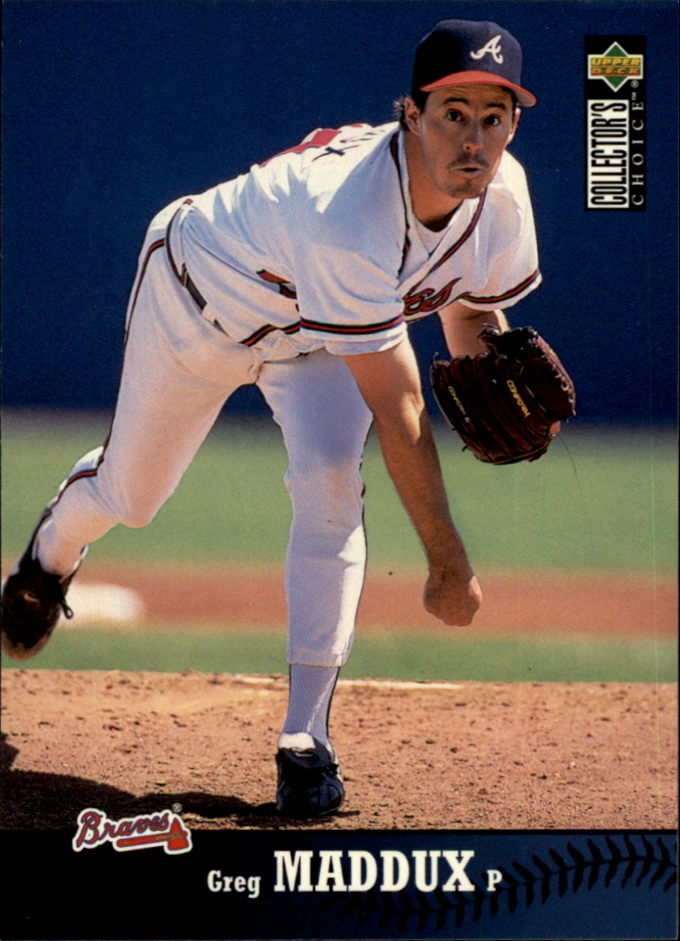 1997 Collector's Choice #266 Greg Maddux