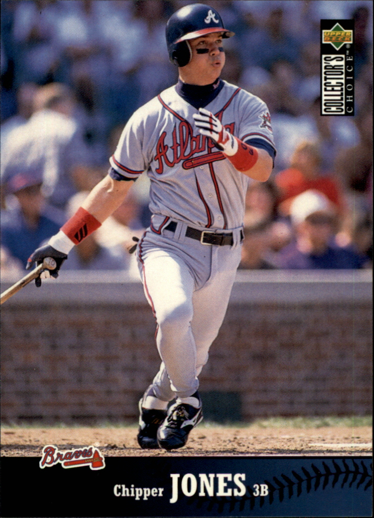 1997 Collector's Choice #270 Chipper Jones