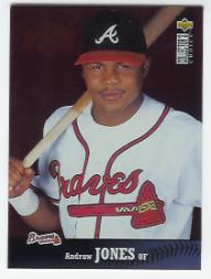 1997 Collector's Choice #325 Andruw Jones GHL