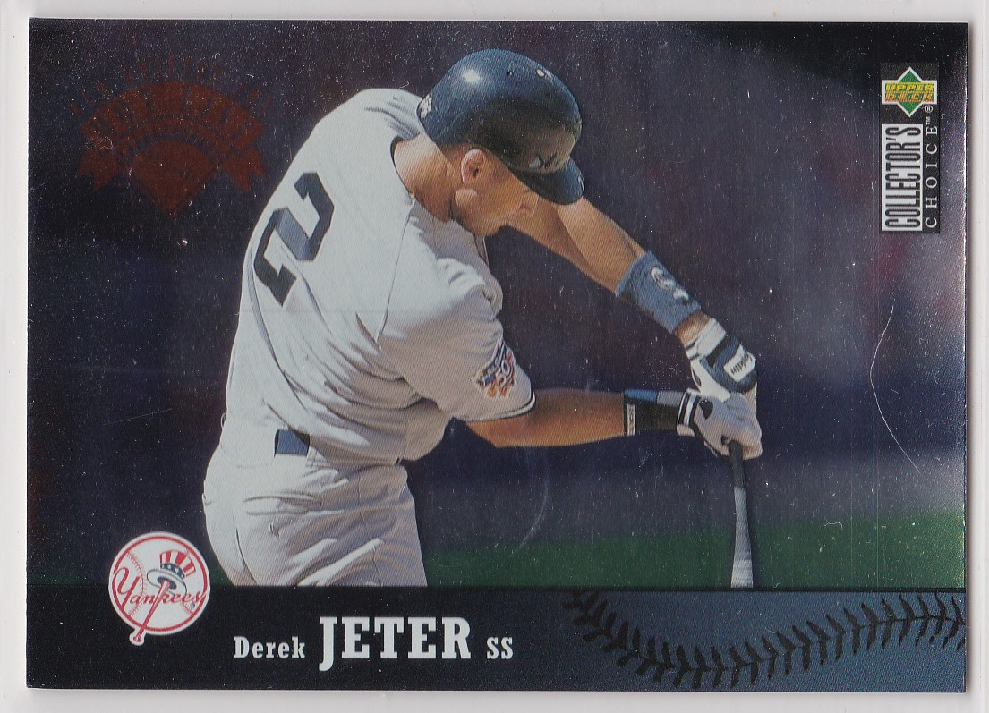1997 Collector's Choice #331 Derek Jeter GHL