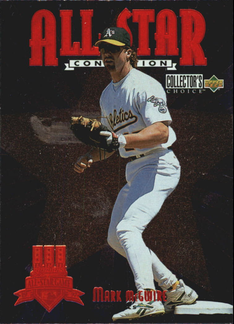 1997 Collector's Choice All-Star Connection #1 Mark McGwire