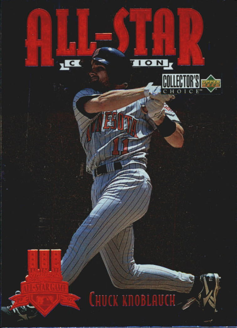 1997 Collector's Choice All-Star Connection #2 Chuck Knoblauch
