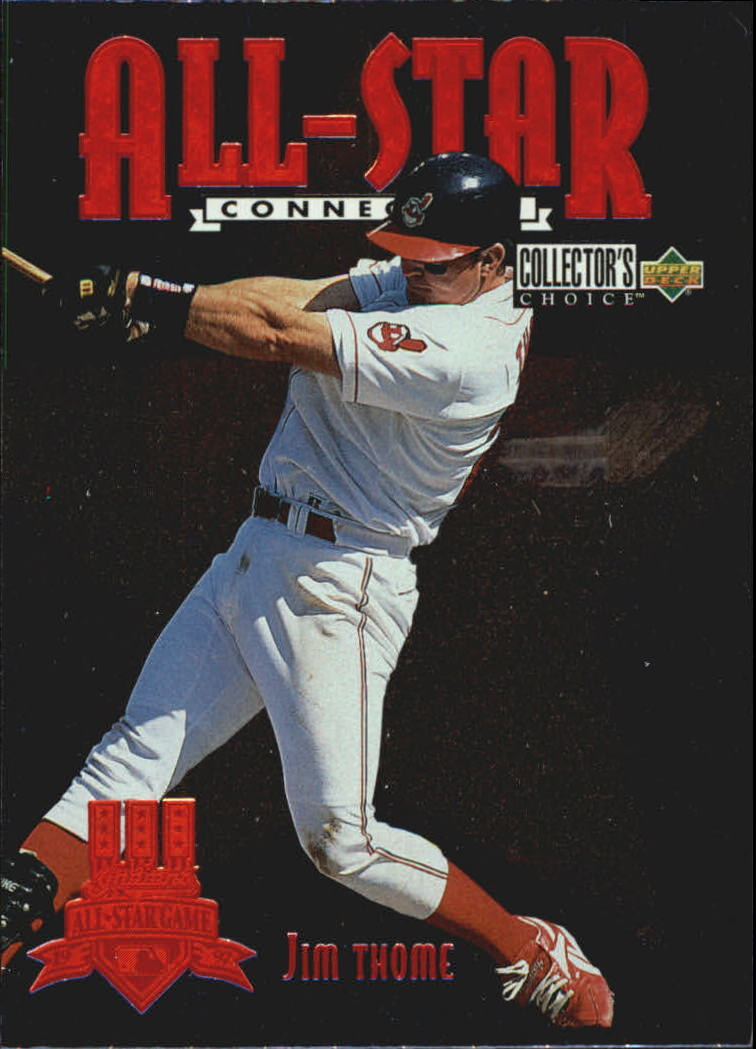 1997 Collector's Choice All-Star Connection #3 Jim Thome