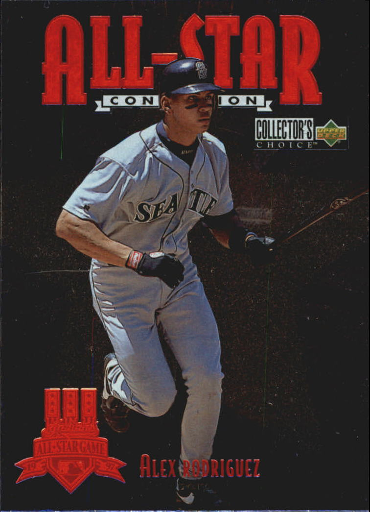 1997 Collector's Choice All-Star Connection #4 Alex Rodriguez