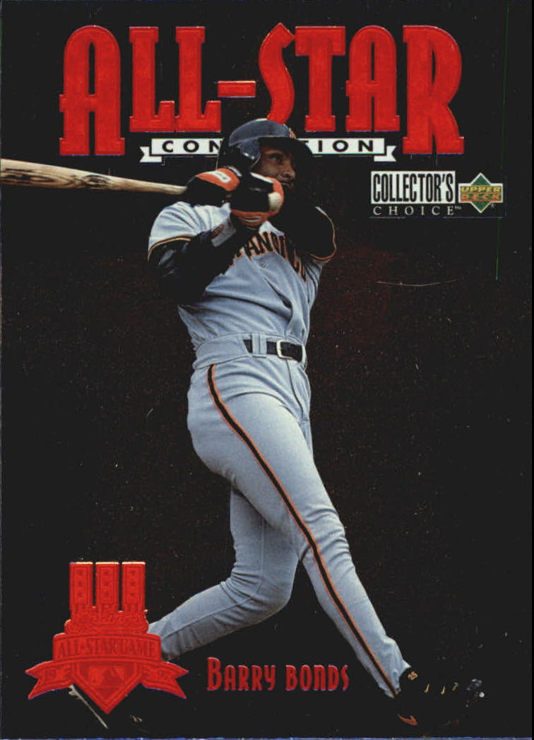 1997 Collector's Choice All-Star Connection #24 Barry Bonds