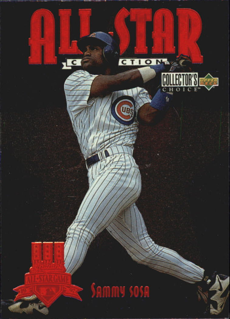 1997 Collector's Choice All-Star Connection #32 Sammy Sosa