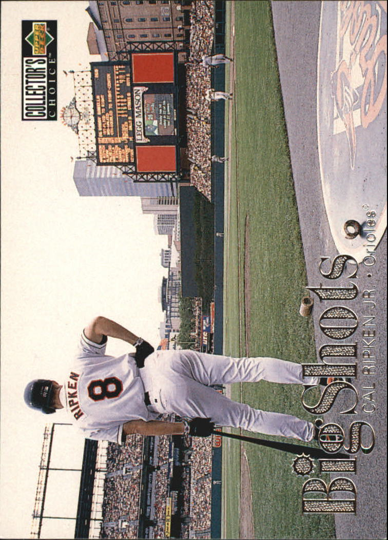1997 Collector's Choice Big Shots #8 Cal Ripken