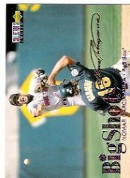 1997 Collector's Choice Big Shots Gold Signatures #2 Nomar Garciaparra