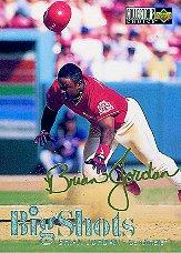 1997 Collector's Choice Big Shots Gold Signatures #3 Brian Jordan