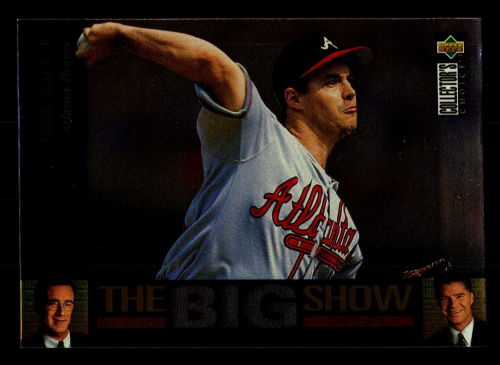 1997 Collector's Choice The Big Show #1 Greg Maddux