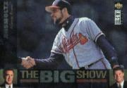 1997 Collector's Choice The Big Show #4 John Smoltz