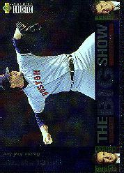 1997 Collector's Choice The Big Show #10 Roger Clemens