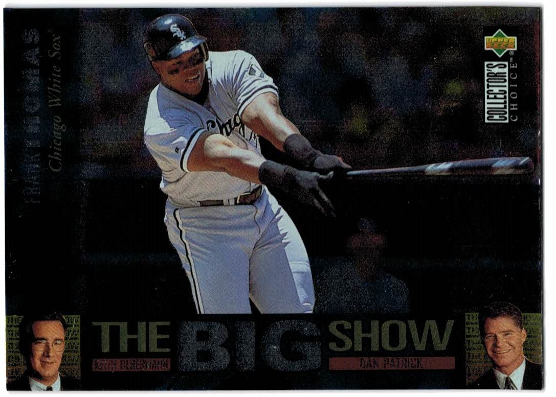 1997 Collector's Choice The Big Show #16 Frank Thomas