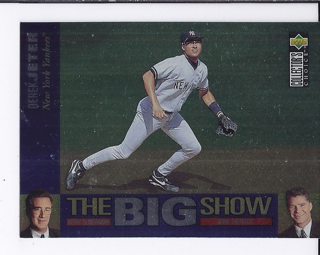 1997 Collector's Choice The Big Show #34 Derek Jeter