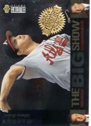 1997 Collector's Choice The Big Show World Headquarters #1 Greg Maddux