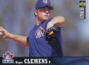1997 Collector's Choice The Big Show World Headquarters #10 Roger Clemens