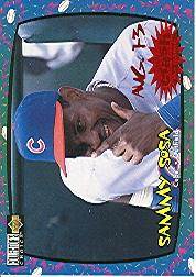 1997 Collector's Choice Crash the Game #8A S.Sosa Aug 1-3 W