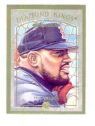 1997 Donruss Diamond Kings Canvas #3 Mo Vaughn