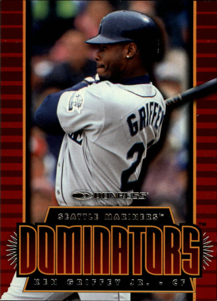 1997 Donruss Dominators #2 Ken Griffey Jr.