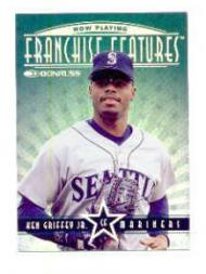 1997 Donruss Franchise Features #1 K.Griffey Jr./A.Jones