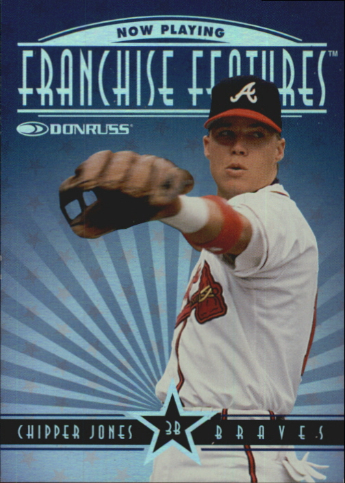 1997 Donruss Franchise Features #6 C.Jones/T.Walker