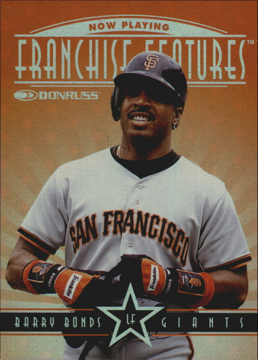 1997 Donruss Franchise Features #7 B.Bonds/V.Guerrero