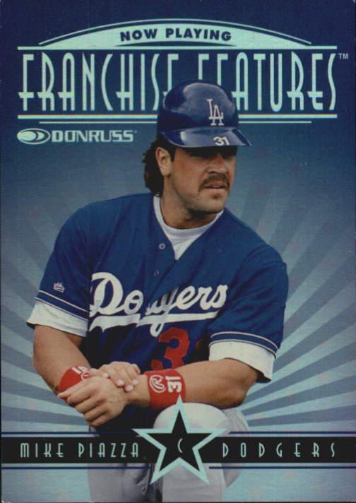 1997 Donruss Franchise Features #9 M.Piazza/M.Sweeney