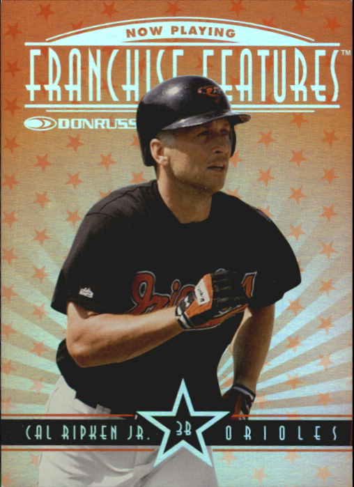 1997 Donruss Franchise Features #13 C.Ripken/S.Rolen