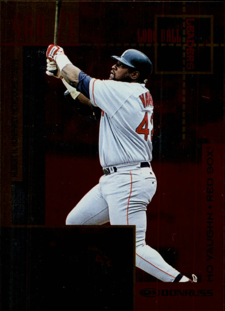 1997 Donruss Longball Leaders #3 Mo Vaughn