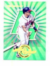 1997 Donruss Power Alley #6 Andruw Jones GR