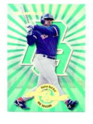 1997 Donruss Power Alley #9 Mo Vaughn GR