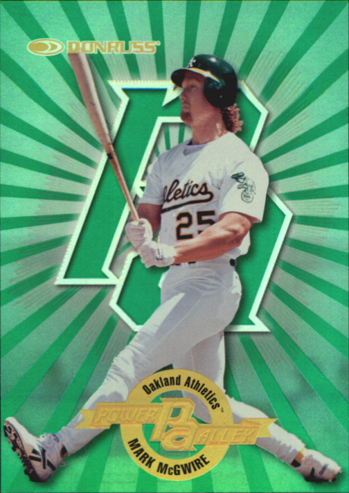 1997 Donruss Power Alley #14 Mark McGwire GR