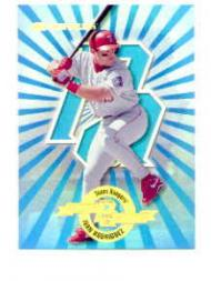 1997 Donruss Power Alley #20 Ivan Rodriguez B