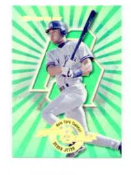 1997 Donruss Power Alley #24 Derek Jeter GR