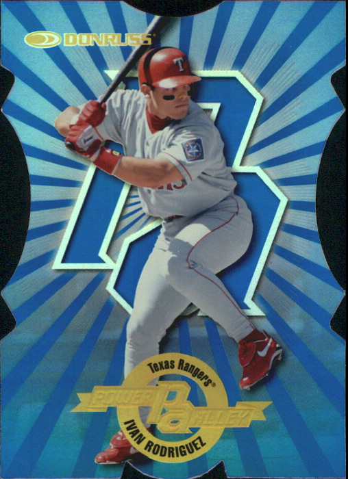 1997 Donruss Power Alley Die Cuts #20 Ivan Rodriguez B